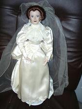 ASHTON DRAKE PORCELAIN DOLL      Bride Doll  96512
