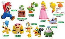 Furuta Choco egg Super Mario Bros. Part 4 Wii Figure Set of 11 pcs JAPAN NEW