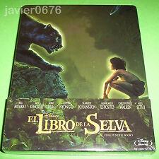EL LIBRO DE LA SELVA DISNEY BLU-RAY NUEVO Y PRECINTADO STEELBOOK