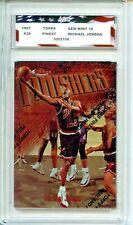 1997-98 Topps Finest #39 Michael Jordan AGC 10 Gem Mint Chicago Bulls