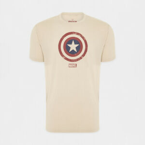 Marvel Star Captain America New with tags T-Shirt, Free postage Various sizes