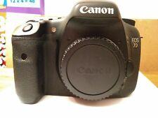 Canon EOS 7D 18.0MP Appareil Photo Reflex Numérique-corps noir uniquement avec batterie/chargeur.
