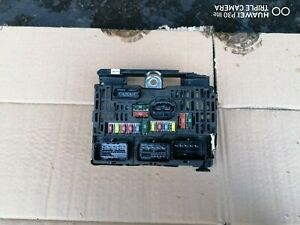 CITROEN, PEUGEOT FUSE BOX UNIT 9658539680