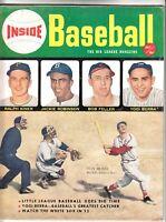 INSIDE BASEBALL 1 July 1952 Classic Vintage Magazine Stan Musial Jackie Robinson