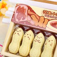 Gift Toy Cute Lovely Cartoon Stationery School Supplies Rubber Peanut Eraser