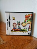 Mario and Luigi: Bowser's Inside Story Nintendo DS With Case and directions