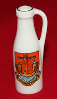 W.H. Goss - Crested Ware - Model of Ancient Ewer - Folkestone - vgc