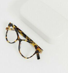 Marc Jacobs tortoiseshell cat eye clear lens glasses RRP £160.00