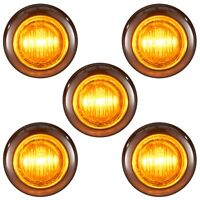 """40-3//4/"""" Clearance lights LED RED Lens Lights NEW"""