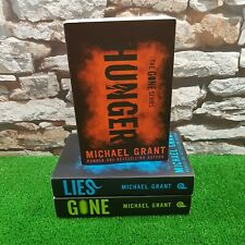 Michael Grant Books, Hunger/Gone/Lies Book Bundle VGC Free P&P