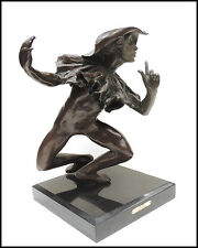 Richard MacDonald Authentic The Mime Bronze Sculpture Signed Original Art SBO