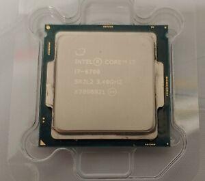 Intel QUAD Core i7-6700 3.4Ghz 8M 8GT/s Socket LGA 1151 CPU Processor SR2L2 8T