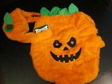 Halloween Doggie 2-Piece Costume, Pumpkin Jack-o-Lantern, Size Medium, NWT