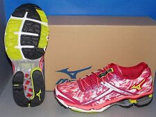 WOMENS MIZUNO WAVE CREATION 15 in colors ROSE / LIME / PINK SIZE 6.5