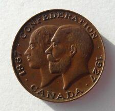 Collectable 1867-1927 Canada Confederation Medal Token