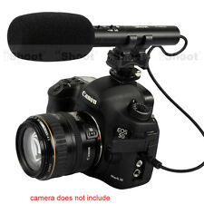 Professional Camera MIC Stereo Microphone for Canon EOS M 700D 650D 600D 550D