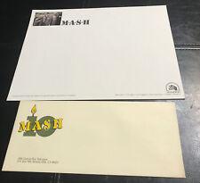 M.A.S.H. Envelope & Stationary 10th Anniversary 20th Century Fox