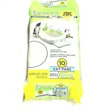 Purina Tidy Cats Breeze Spring Clean Cat Pads Refill Pack 10-Count Brand New