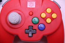 [Free track ship] Hori Pad Mini 64 Red Nintendo N64 Controller horipad 2