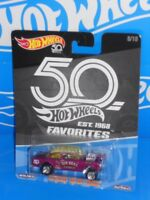"Hot Wheels 2018 50th Favorites Series 8/10 '55 Chevy Bel Air Gasser ""Big Deal"""