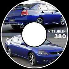 MITSUBISHI 380 DB 2005 2006 2007 2008  3.8L V6 6G75 WORKSHOP SERVICE REPAIR CD