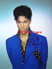 Prince Purple Rain Music Artist Signed 8x10 autographed RP