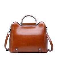 86af85a4c4 100% Genuine Leather Women s Handbag Shoulder Bag Crossbody Hobo Tote 1028