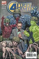 Fantastic Four Comic 5 First Family Cover A First Print 2006 Joe Casey Marvel