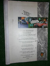 ORIGINAL FACTORY ROVER T750 MANUAL GEARBOX OVERHAUL MANUAL BOOKLET HANDBOOK 1996