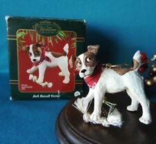 Carlton Cards Ornament 2003 Jack Russell Terrier Dog