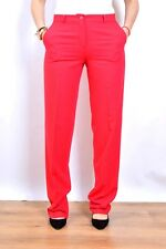 Giorgio Armani AJ Fucsia Made in Italy Wool High Waist Trousers Pants Uk12 NWOT