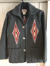 CHIMAYO BLANKET Jacket Outer 100% Wool Native Men India made