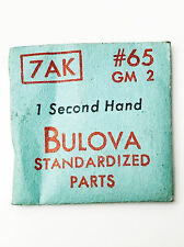 Bulova New 7AK GM2 Vintage Second Watch Hand #63-64 NOS Sealed Original Package