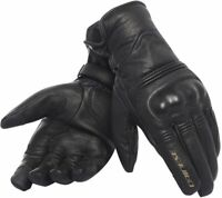 Gloves leather moto Dainese Corbin d-dry black size XL fall winter waterproof