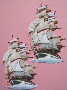 New: 8 x Tattered Lace : Tall Ship Charisma Die Cuts