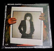 MICHAEL QUATRO-DANCER, ROMACERS, DREAMERS & SCHEMERS-ROCK/FUNK-1976-SEALED LP