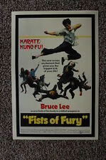 Fists of Fury Lobby Card Movie Poster Bruce Lee