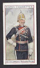 COPE - EMINENT BRITISH REGIMENTS OFFICERS (SCANDINAVIAN) - #14 13TH D.C. LANCERS