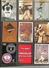 1993 TED WILLIAMS BASEBALL COMPLETE MASTER SET (INSERTS) +  TED'S FOOTBALL PROMO