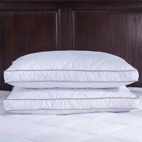 Puredown Goose Down Feather Pillows for Sleeping Down Pillow Standard Queen