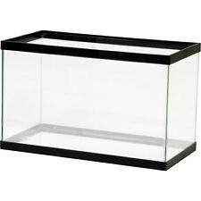 10 Gallon Fish Tank Aquarium Clear Glass Terrarium Pet Aqua Reptiles Goldfish