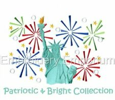 Patriotic & Bright Collection - Machine Embroidery Designs On Cd Or Usb