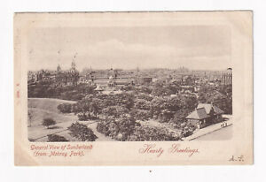 Printed Postcard General View Of Sunderland From Mobray Park