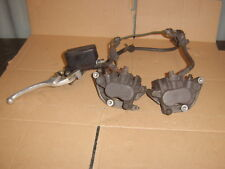 honda cbr600 f3 front brake system calipersx2+master cylinder+hoses