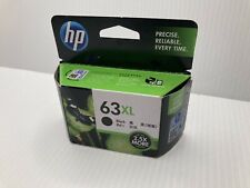 GENUINE HP #63XL BLACK High Yield Ink Cartridge