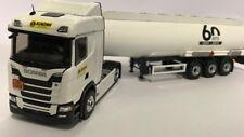 Scania S450 citerne hydrocarbure Trans Klinzing 60 ans ELIGOR 1/43 ref 116611