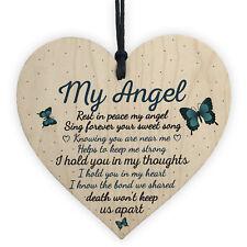 Dad Mum Nan Graveside Memorial Remembrance Heart Grave Plaque Garden Sign