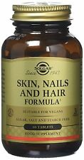 Solgar, Skin, Nails and Hair Formula Tablets , 60