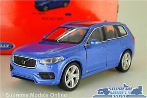 VOLVO XC90 MODEL CAR XC 90 BLUE 1:38 SCALE SUV WELLY NEX XC-90 K8
