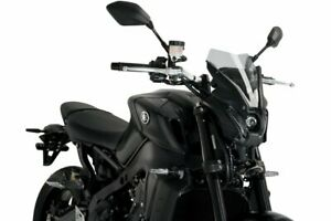 Puig Light Smoke New Generation Sport Screen Yamaha MT09 / SP 2021 20644H